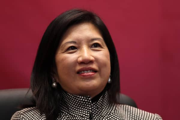 Marjorie Yang, Chairman of Esquel Group.